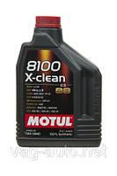 Моторное масло Motul 8100 X-clean 5W-40-C3 (2L)