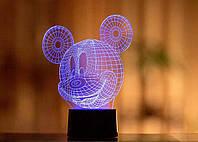 "3D светильник ""Микки Маус"" 3DTOYSLAMP"