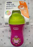 Чашка- поїльнік пластикова Chiccco 266 мл від 12 міс