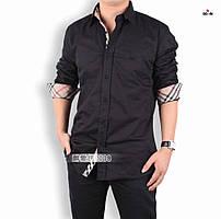 Мужская стильная рубашка хлопковая