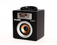 Радиоприемник цифровой  Atlanfa AT-8817 (ПДУ, USB, SD, FM)