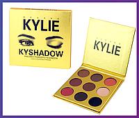 "Тени для век Кайли Дженнер ""Бронзовая Палитра"" | Kylie Jenner The Bronze Palette | 9 цветов, Качество"