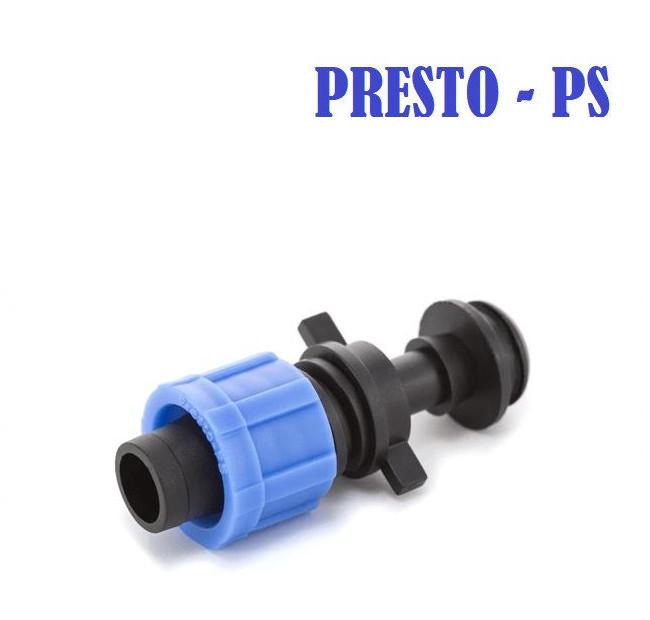 Стартер с резинкой для капельной ленты Presto-PS