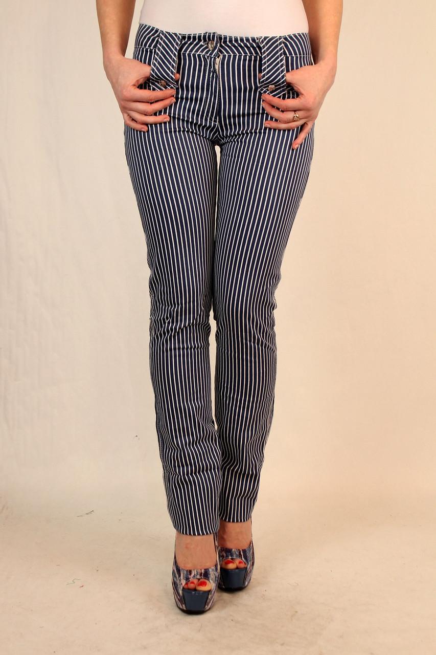 Стильные женские брюки в полоску 42-48 р
