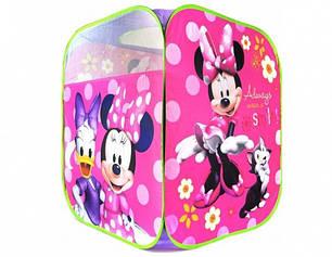 Детская игровая палатка Минни Маус Minnie Mouse, домик для игр, фото 2