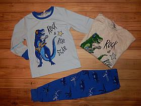 Детская пижама для мальчика Рок 8 л