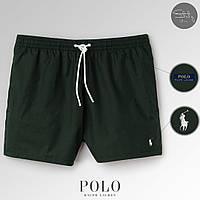 Мужские пляжные шорты для пляжа/плавания/купания поло ральф лорен (Polo Ralph Lauren), реплика