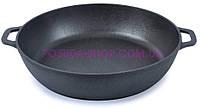 Сковорода чугунная жаровня Биол 28 см 03281