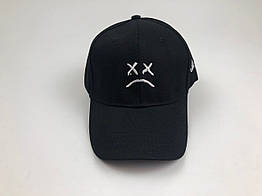 Кепка бейсболка Lil Peep (черная)