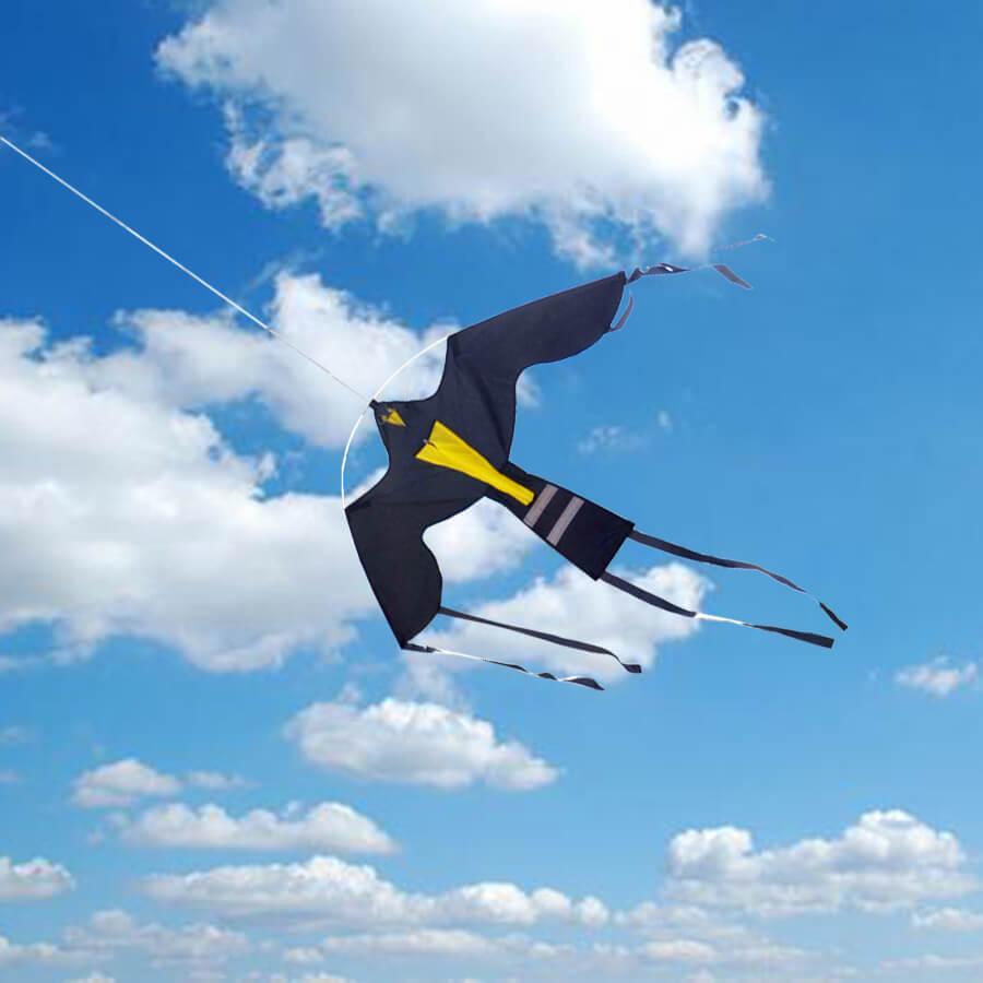 Динамический отпугиватель птиц КРУК+ труба и флагшток