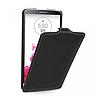 Кожаный чехол (флип) TETDED для LG G3 чёрный
