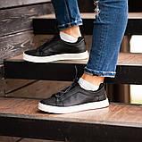 Мужские кроссовки South Greer Black, классические кожаные кроссовки, мужские кожаные кеды , фото 5