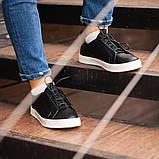 Мужские кроссовки South Greer Black, классические кожаные кроссовки, мужские кожаные кеды , фото 6