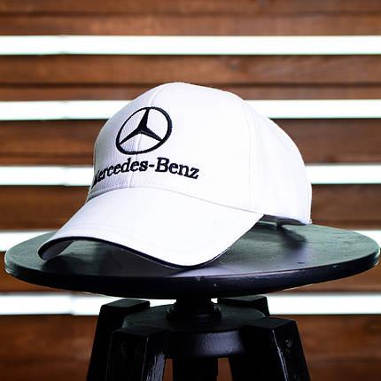 Кепка Mersedes-Benz белая, фото 2