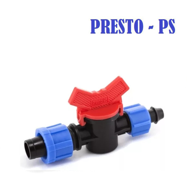 Стартовый кран с поджимом Presto-PS
