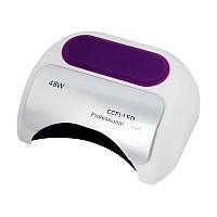 UV LED+CCFL гибридная лампа 48 Вт, для гель лаков и геля