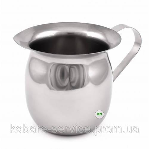 Молочник-питчер-джаг 480 мл (нержавеющая сталь)