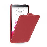 Кожаный чехол (флип) TETDED для LG G3 красный, фото 1