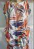 Платье женское принт карманы L-3XL полубатал (лето), фото 2