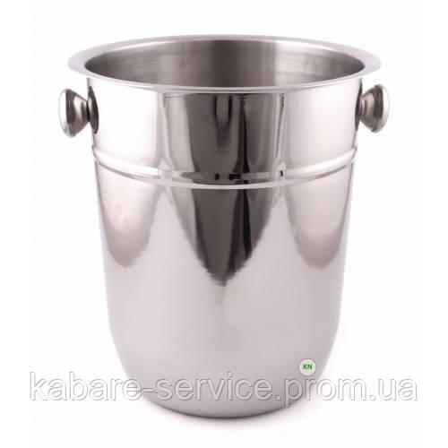 Ведро для охлаждения вина, 7,5 л, нержавеющая сталь, Co-Rect