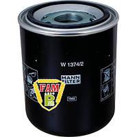 Фильтр масляный W1374/2 MANN, 679433 Claas