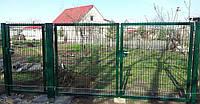 Распашные ворота с фурнитурой Locinox ТЕХНА Класик/Пром Высота 2030 Ширина 1000 Столб 2850х80х60