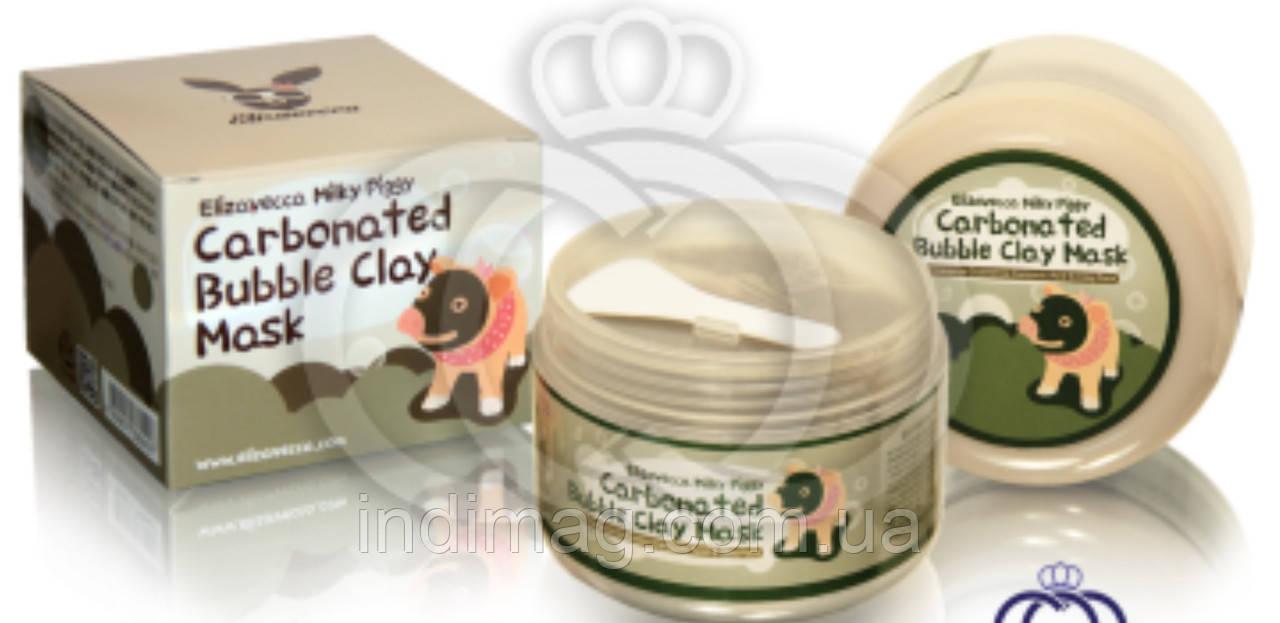 Глиняно-пузырьковая маска  производителя Elizavecca Milky Piggy