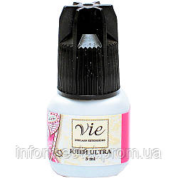 Клей  для наращивания ресниц Vie Ultra, 5 ml, время фиксации 3 секунды