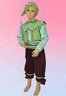 Гном в зеленом/вельвет. Детские карнавальные костюмы