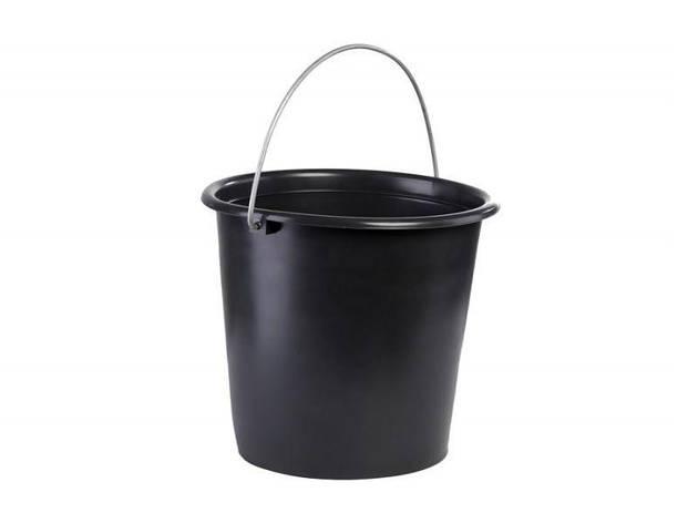 Ведро 10л черное Лемира, фото 2