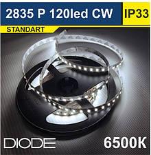 Світлодіодна стрічка SMD 2835 / 120 шт/м
