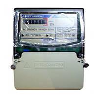 Трехфазный однотарифный электросчетчик ЦЭ 6804-U/1 220В 10-100А 3ф. 4пр. МР32