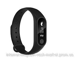 Фитнес-браслет Health Bracelet M2 | Аналог Xiaomi Mi Band 2, Качество