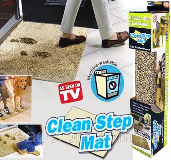 [ОПТ] Впитывающий Придверный Коврик Clean Step Mat