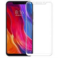 Защитное стекло 5D Future Full Glue для Xiaomi Pocophone F1 white