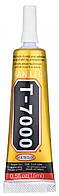 Клей герметик Zhanlida T7000 15 мл черный клей-герметик Zhanlida, при корпусном ремонте техники