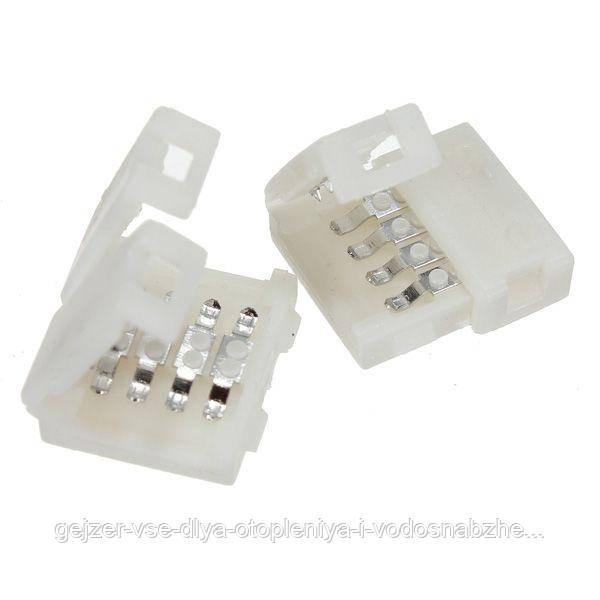 Коннектор для светодиодной ленты 5050,RGB,8мм