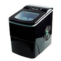 🔝 Бытовой льдогенератор для дома - компактный генератор льда (машина для льда) | Черный | 🎁%🚚