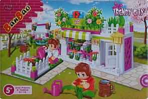 Ban Bao цветочный магазин конструктор