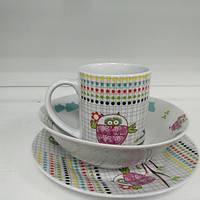 Набор детской посуды Milika Sweet Couple M0690-TH5849