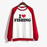 Джемпер I LOVE FISHING  мужской