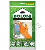 Перчатки латексные, универсальные хозяйственные, DOLONI