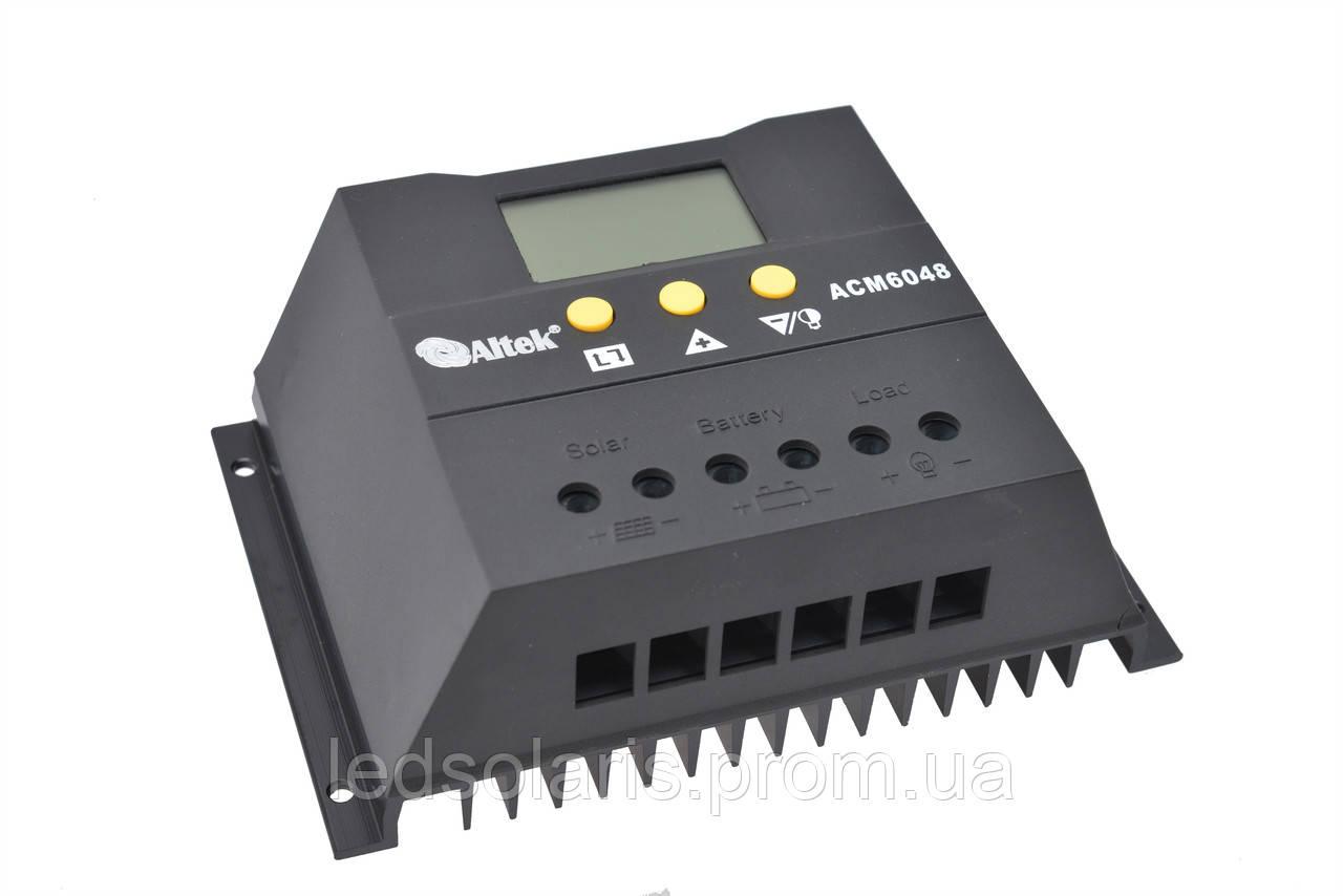 Контролер заряду Altek ACM6048 (60А)