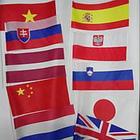 Флажки разных стран.