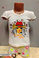 Летний детский костюм   для девочки 2 - 3  года