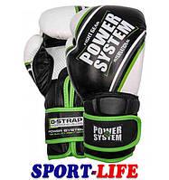 Перчатки для бокса POWERSYSTEM PS 5006 CONTENDER с зеленым, с оранжевым, фото 1