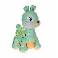 Іграшка Зайчик Музична D Jin Shaung Lu Зелена, фото 1