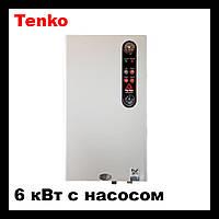 """Электрический котел Tenko серии """"СТАНДАРТ+  Grundfos"""" 6 кВт  - 220 В"""