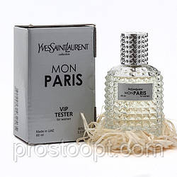 Тестер  VIP Yves Saint Laurent Mon Paris 60 мл женский