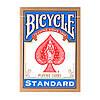 Карты для фокусов и покера Bicycle Standard (standart, Rider back) Синие